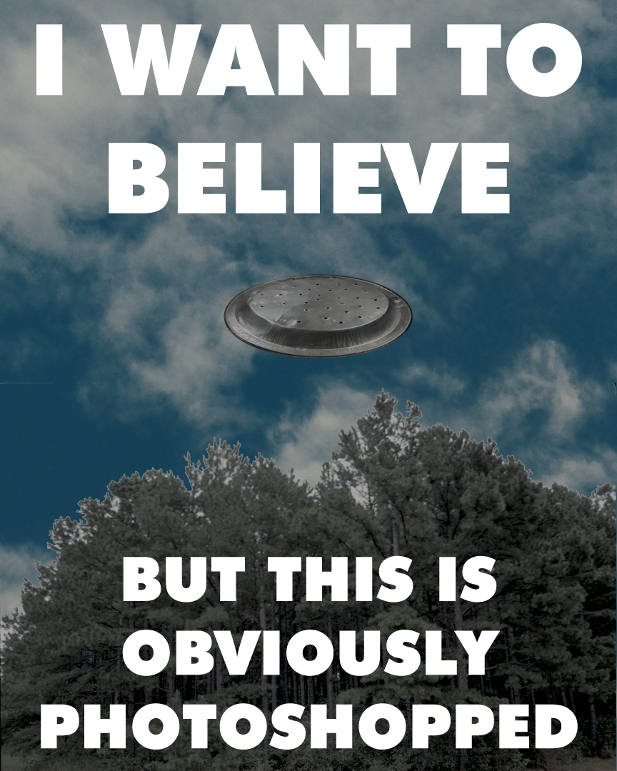 I Want To Believe But